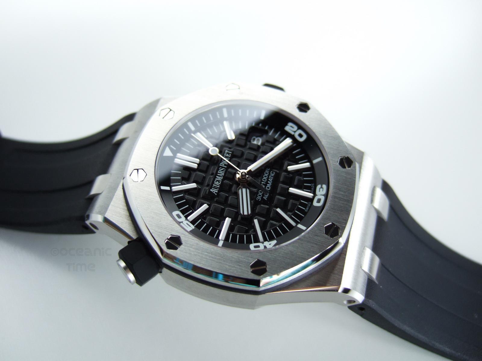 Offshore Diver Pictures : Uhren mit ähnlicher guillochierung wie die klassische