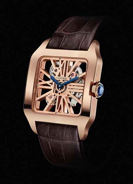 Cartier Popular Rose Gold Men's Aviation Watch