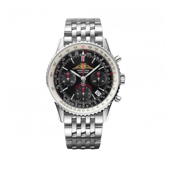 Frnot of Breitling Navitimer AOPA limited edition stainless steel watch