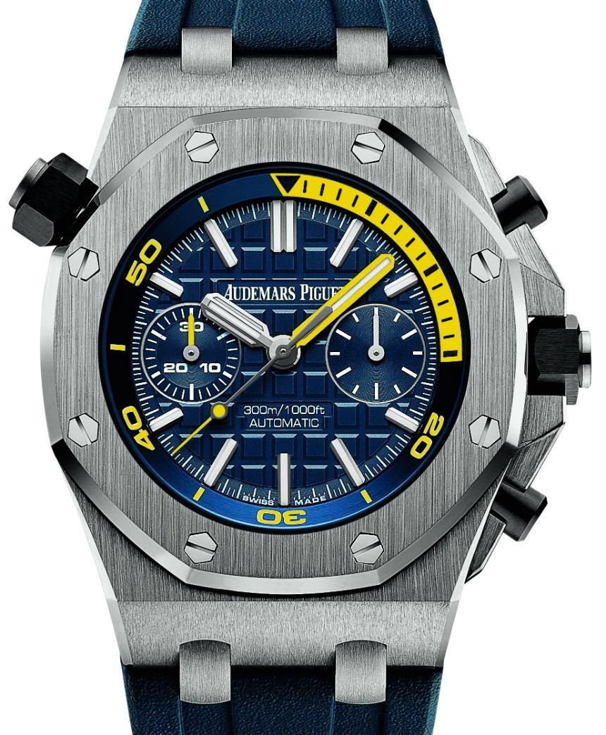Audemars Piguet launched new Royal Oak Offshore Diver Chronograph Watches 03