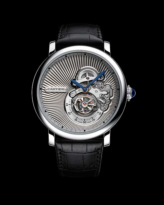 Front of Rotonde de Cartier Reversed Tourbillon
