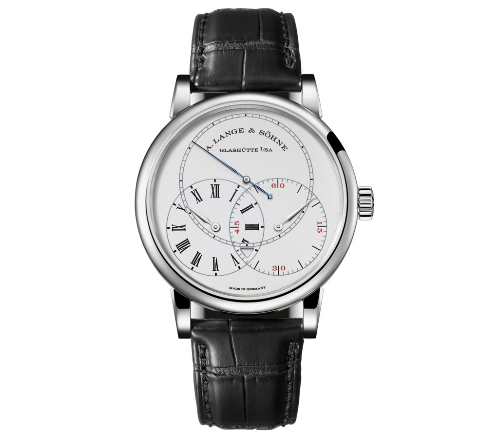 Front of A. Lange & Söhne Richard Lange Jumping Seconds watch
