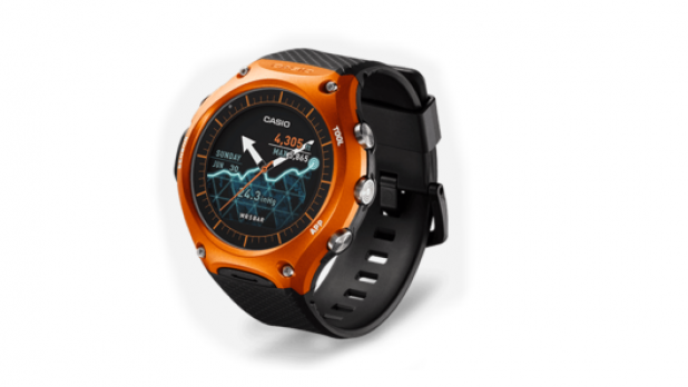 Casio Android Wear For Outdoors-WSD-F10 Smartwatch