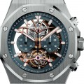 front of Audemars Piguet Royal Oak Tourbillon Chronograph Openworked Platinum