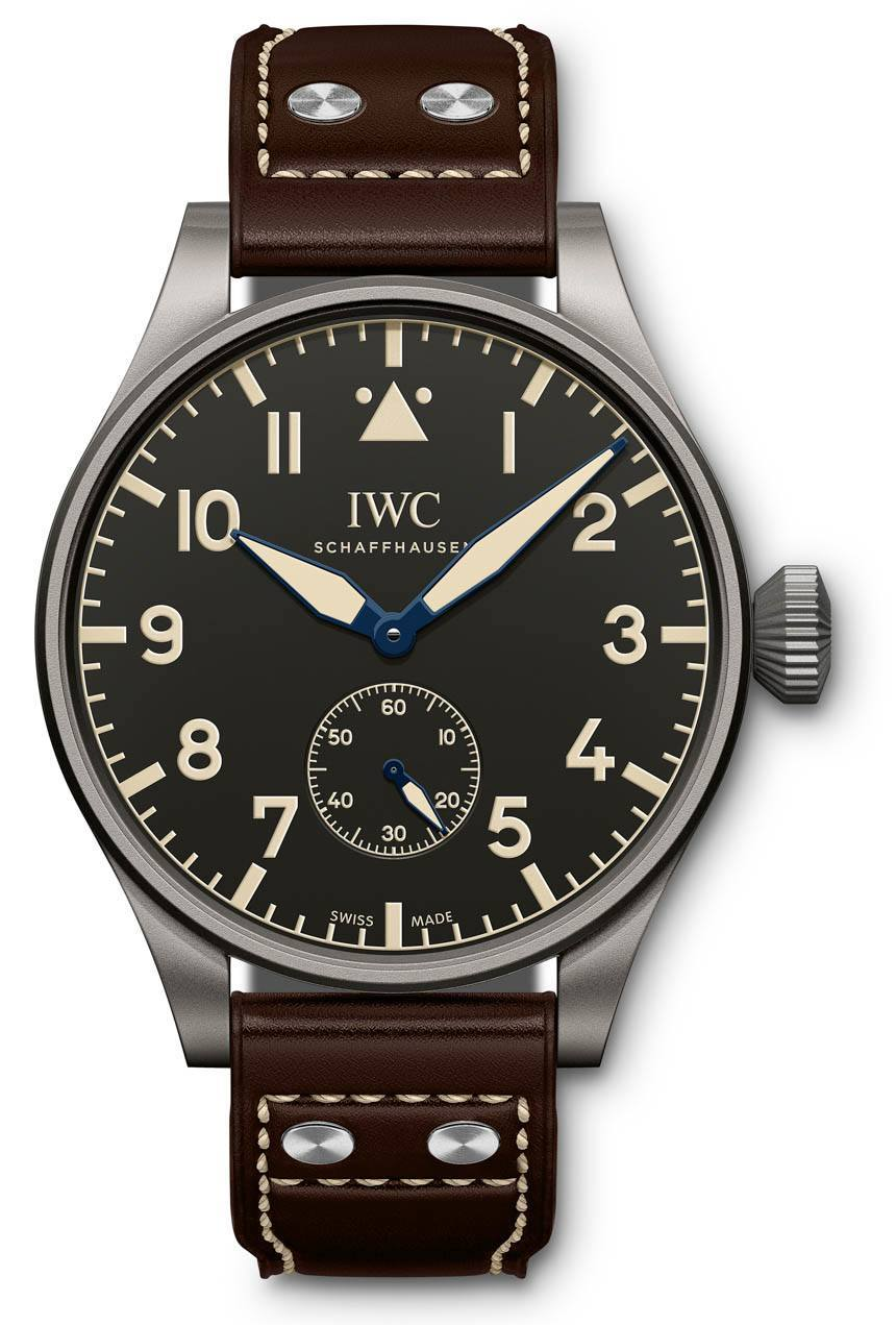 Front of IWC Big Pilot's Heritage 55