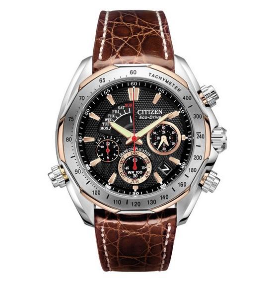 Front of Citizen Signature Grand Complication watch BZ0006-2E