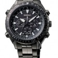 Front of Seiko Prospex Radio Sync Solar World Time Chronograph