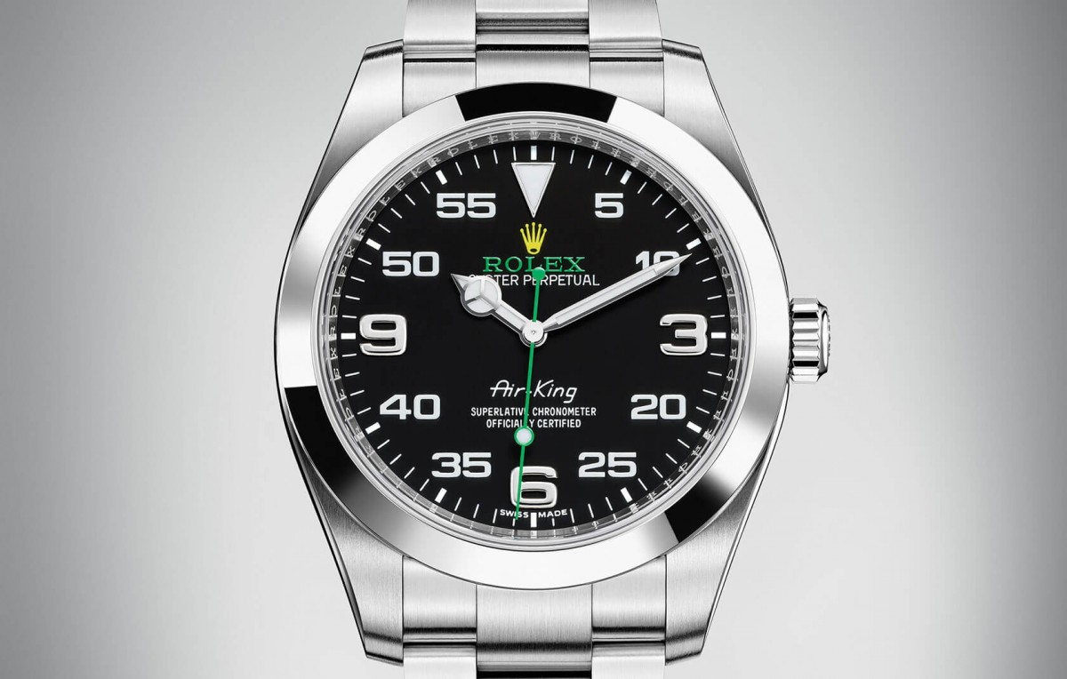 Front of the Rolex Oyster Perpetual Air-King