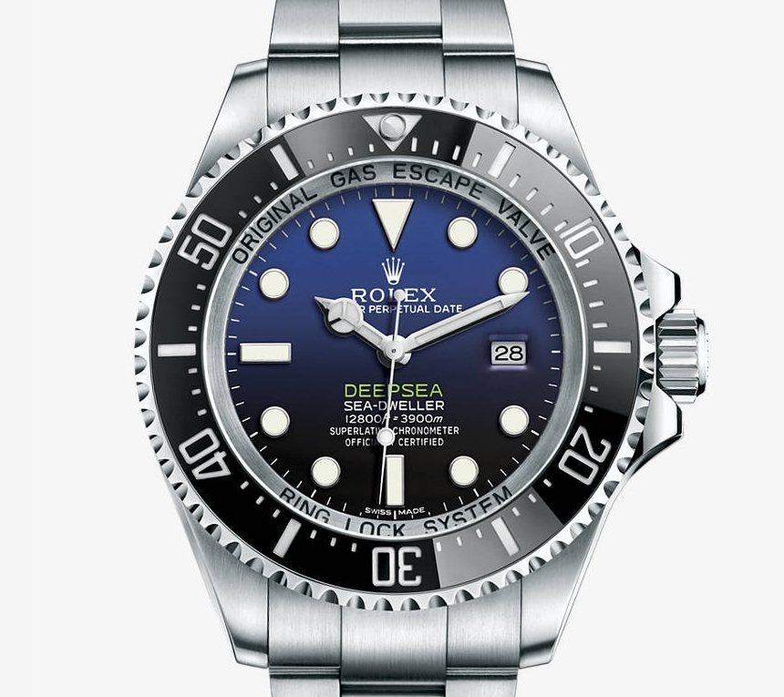 Front of Rolex Deepsea D-Blue 02