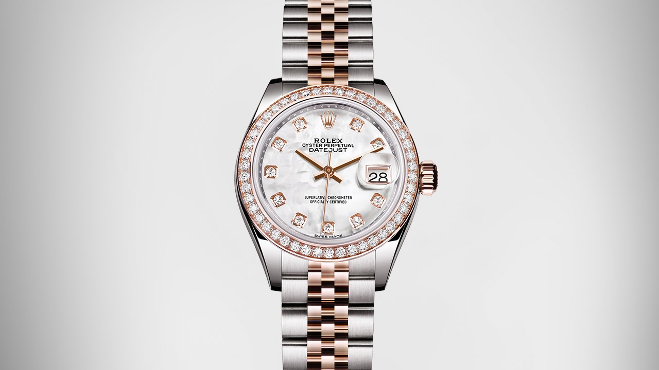 Front of Rolex new Lady-Datejust watch