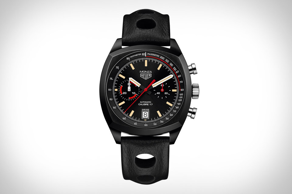 Front of Tag Heuer Monza 40th Anniversary