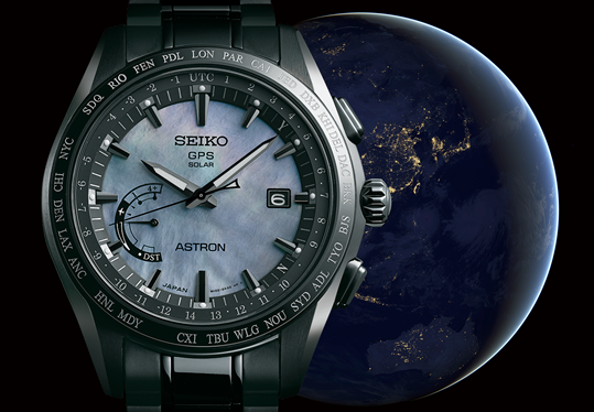 The Astron GPS Solar World-Time Limited Edition. SSE091