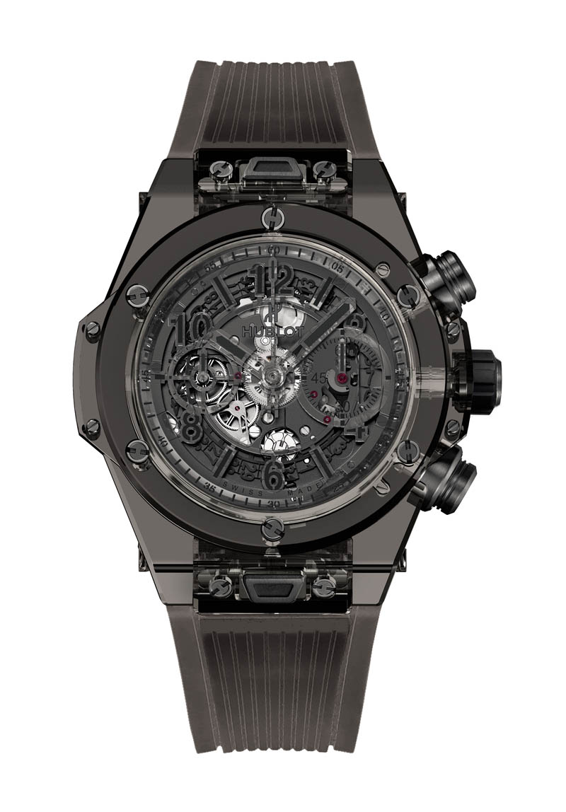 Front of Hublot Big Bang Unico Sapphire All Black