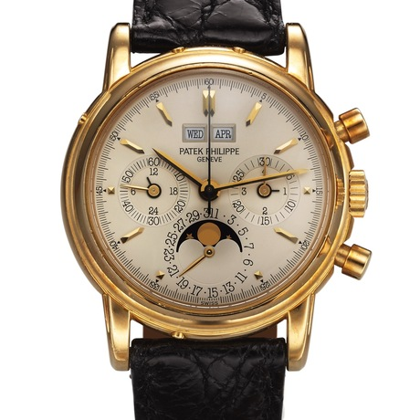 Patek Philippe Yellow Gold Ref. 3970E Chronograph