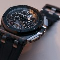 Side of Audemars Piguet Royal Oak Offshore Selfwinding Tourbillon Chronograph Watch 03