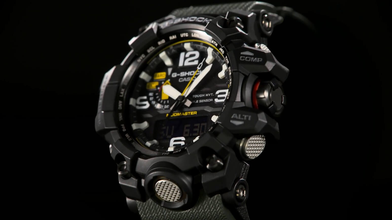 Casio G-Shock GWG one thousand-1A3 Mudmaster hands on