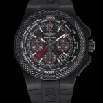 Front of Bentley GMT B04 S Carbon watch