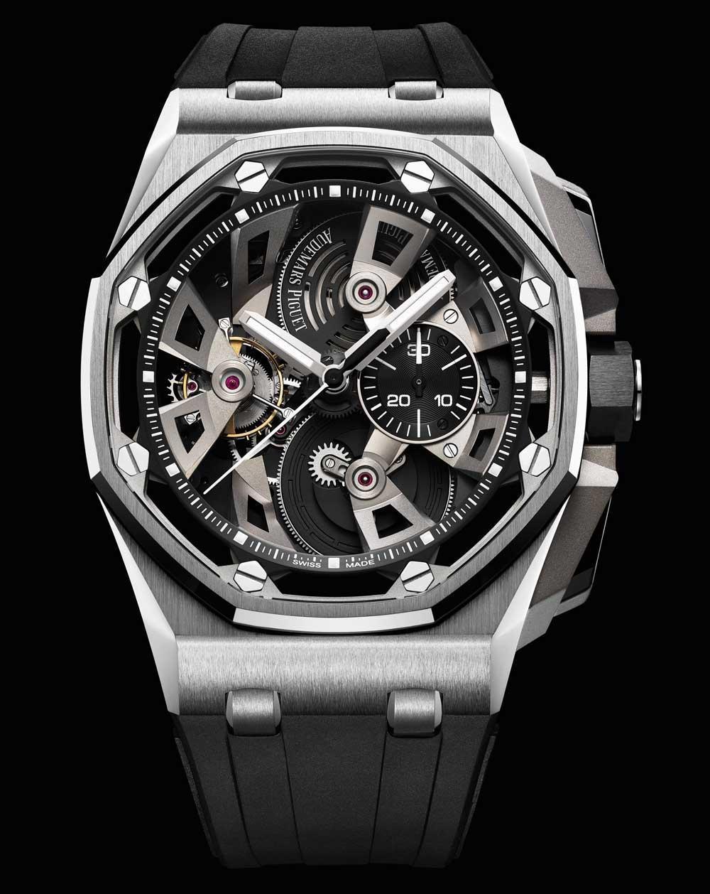 Audemars Piguet Royal Oak Offshore Tourbillon Chronograph 25th Anniversary Watches Watch Releases