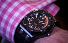 Audemars Piguet Royal Oak Offshore Diver Ceramic Watch Review Wrist Time Reviews