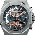 Audemars Piguet Royal Oak Tourbillon Chronograph Openworked In Platinum Watch Releases