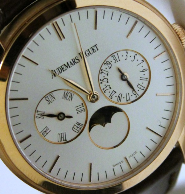 Audemars Piguet Jules Audemars Moon-Phase Calendar Watch Hands-On Hands-On