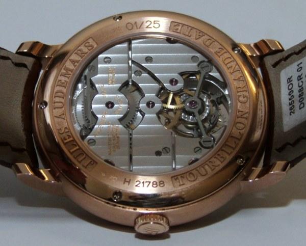 Audemars Piguet Jules Audemars Tourbillon Grande Date Watch Is Best Tourbillon Of SIHH 2011 Hands-On