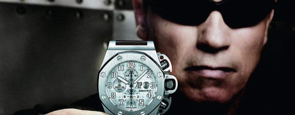 Schwarzenegger v. Bill Clinton: A Showdown Between Audemars Piguet Jules Audemars Minute Repeater Watches Of Ambitious Proportions Feature Articles