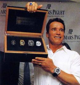 Schwarzenegger v. Bill Clinton: A Showdown Between Audemars Piguet Jules Audemars Globe Watches Of Ambitious Proportions Feature Articles