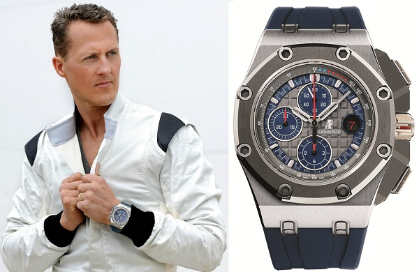Michael Schumacher Limited Edition Audemars Piguet Limited Edition Ebay Royal Oak Offshore Watch + Video Watch Releases