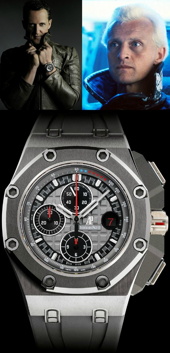 Michael Schumacher Limited Edition Audemars Piguet Royal Oak Limited Edition 30th Anniversary Royal Oak Offshore Watch + Video Watch Releases