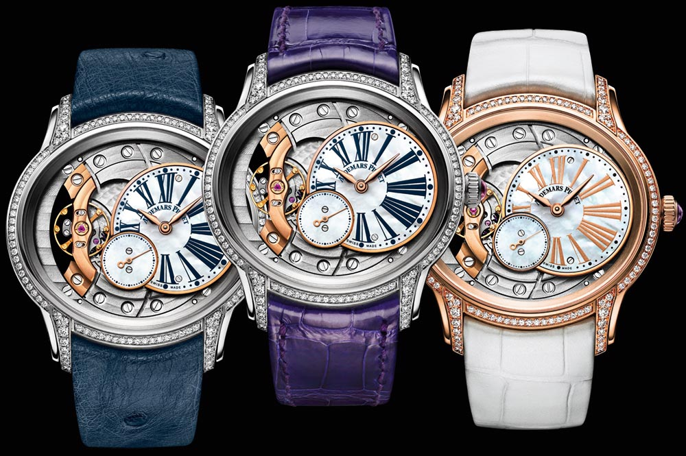 New Audemars Piguet Millenary Automatic 18k Millenary Ladies' Watches For 2018 Watch Releases