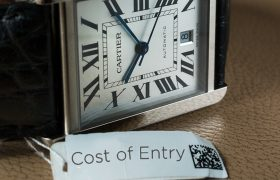 Cost Of Entry: Cartier Watches Featured Articles