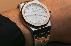 Audemars Piguet Royal Oak 15400SR Two-Tone Watch Hands-On Hands-On